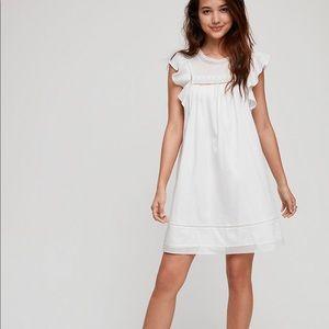 Aritzia Sunday Best white cotton dress